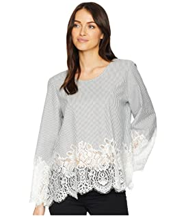 Lace Border Top