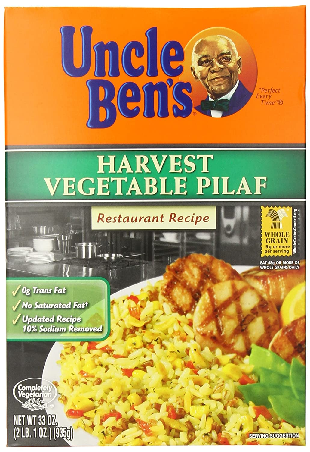 UNCLE BEN'S Harvest Vegetable Pilaf Pack of 33 Las Vegas Mall 6 OFFicial Ounce