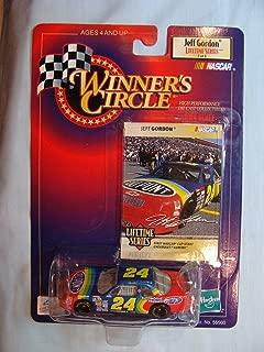 1992 (First NASCAR Start) Jeff Gordon #24 Dupont Automotive Finishes Rainbow 1/64 Scale Winners Circle Lifetime Series Edition #7 of 8 With Gordon Photo Insert