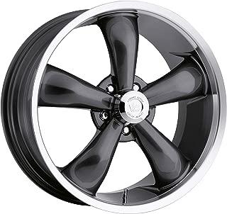 Vision 142 Legend 5 Gunmetal Wheel with Machined Lip (18x9.5