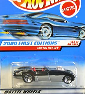 Hot Wheels Austin Healey Black 2000 First Editions Series #32 of 36 Basic Car 1:64 Scale Series Collector #092