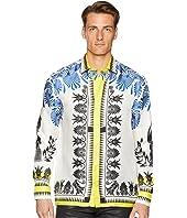 Versace Collection - Olympiad Print Silk Shirt