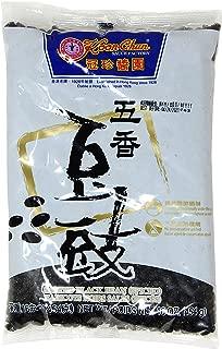 Soeos Chinese Douchi - Fermented Black Beans - 16 Oz Bag