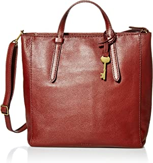 Fossil Camilla Leather 16 inch 11.43 cms Brown Travel Bag (ZB7667227)