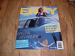 Envy magazine, September 2006-Premiere, First ever issue-Kinky Friedman, Beyonce & Pin-up Special Pictorial.