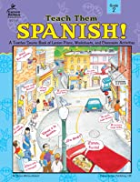 Carson Dellosa | Teach Them Spanish! Workbook | Grade 2, Printable