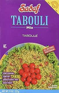 Sadaf Tabouli Mix, 9-Ounce Boxes (Pack of 6)