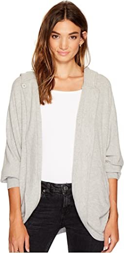 BB Dakota - Heather Soft Hooded Jacket