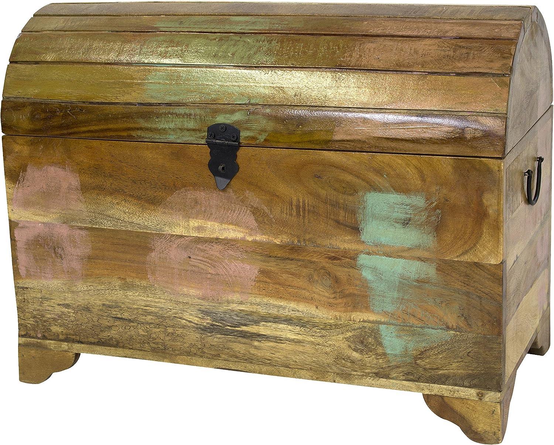 Aufbewahrungs-Kiste XXL aus recyceltem Holz