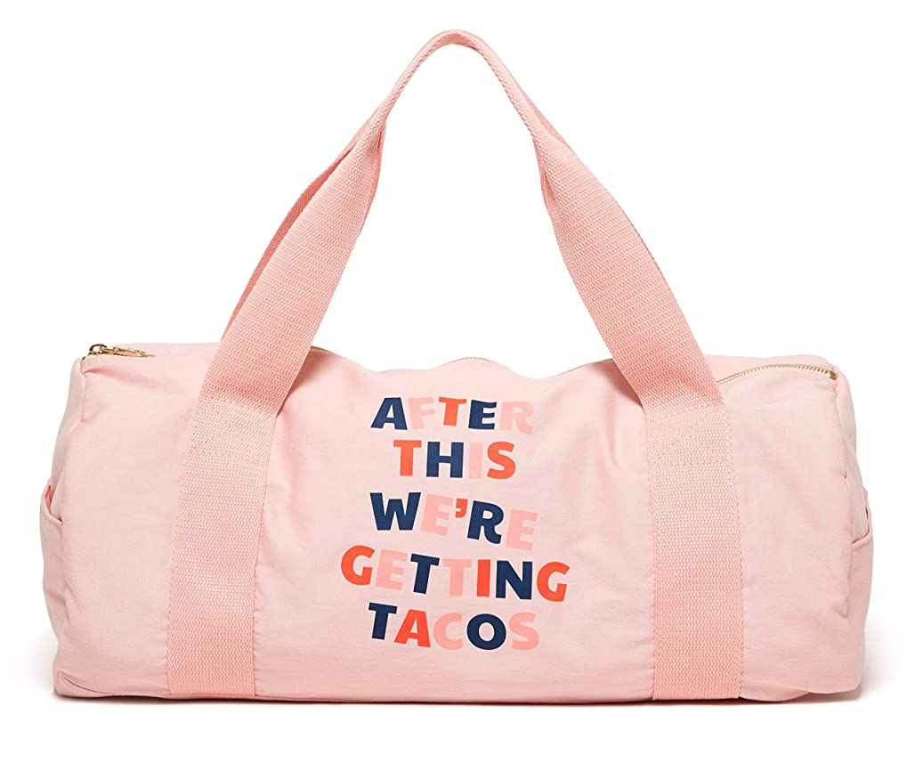 Ban.do Women's Work It Out Gym Bag (After This We're Getting Tacos) nrgcr4431