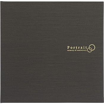 HAKUBA 写真台紙 スクウェア台紙 No.2730 2Lサイズ タテヨコ兼用 2面 ブラウン M2730-2L2BR