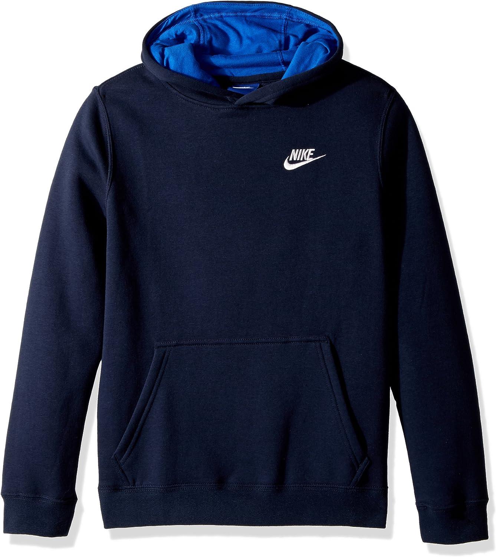 Nike Boy's Sportswear Training Pullover Club Fleece Hoodie