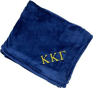 Kappa Kappa Gamma Plush Throw Blanket