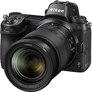 Nikon Z 7 Digital Camera Body with 24-70mm Lens, Black