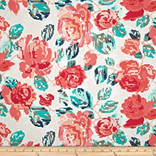 Art Gallery Fabrics 0394041 Art Gallery Recollection Flowered Engrams Delicate Fabric by The Yard
