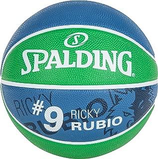 Spalding Ballon Player Ricky Rubio