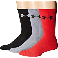 3-Pack Under Armour Men's Elevated Performance Crew Socks