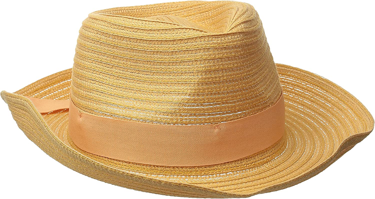 Physician Endorsed Women's Avanti Packable Fedora with Memory Wire