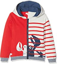 Catimini Baby Boys Hooded Cardigan with Friendly Crab