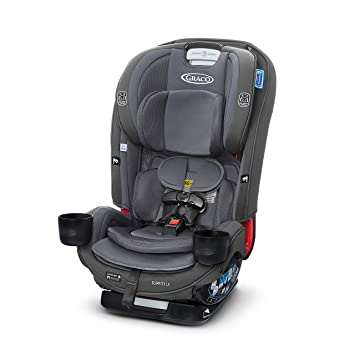 Graco SlimFit3 LX 3 in 1 Car Seat | Space Saving Car Seat Fits 3 Across in Your Back Seat, Kunningham: image