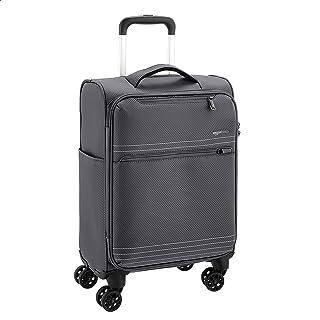 Amazon Basics Ensemble de valises légères souples à roulettes - 56 cm, Gris