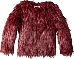 Faux Fur Fully Lined Coat (Toddler/Little Kids/Big Kids)