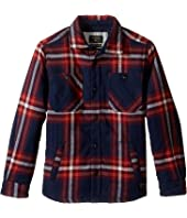 Quiksilver Kids - The Game Play Long Sleeve Woven Top (Big Kids)
