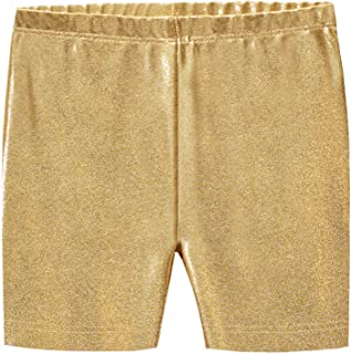 City Threads Girls' 100% Cotton Bike Shorts for Sports, School Uniform Under Skirts Made in USA