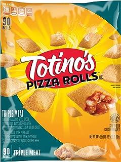 Totino's Pizza Rolls, Triple Meat, 90 Rolls, 44.5 oz Bag (frozen)