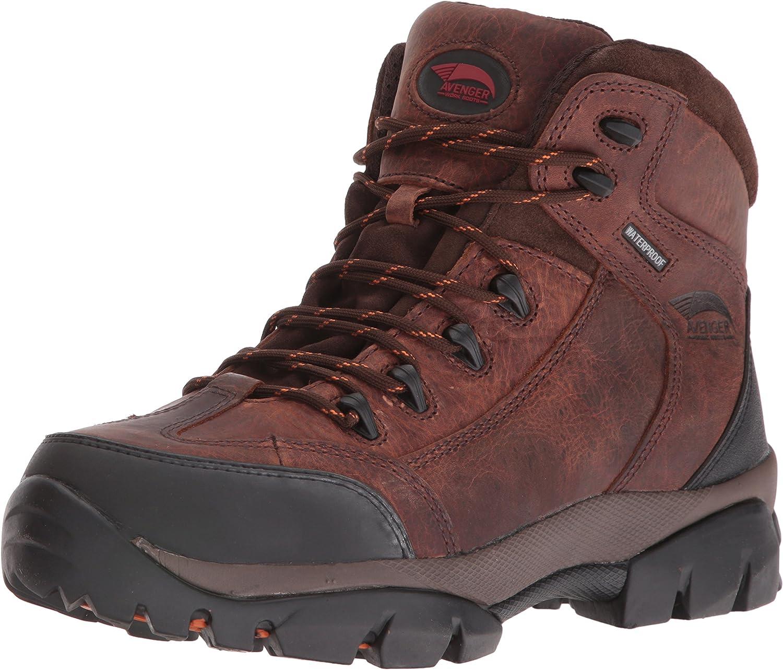 Avenger Work Boots Men's Max 74% OFF A7644 B Industrial Shoe Construction service