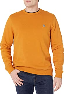 Original Penguin Men's Long Sleevesticker Pete Crew Fleece Sweater