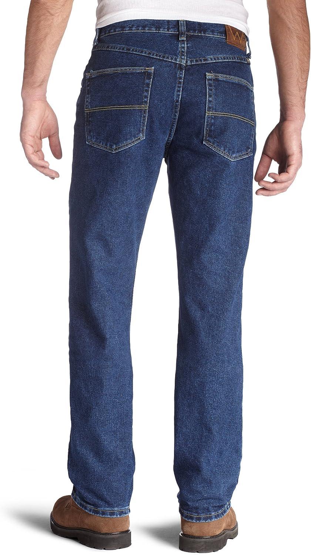 Wrangler Regular Fit Jeans Homme Dark Denim