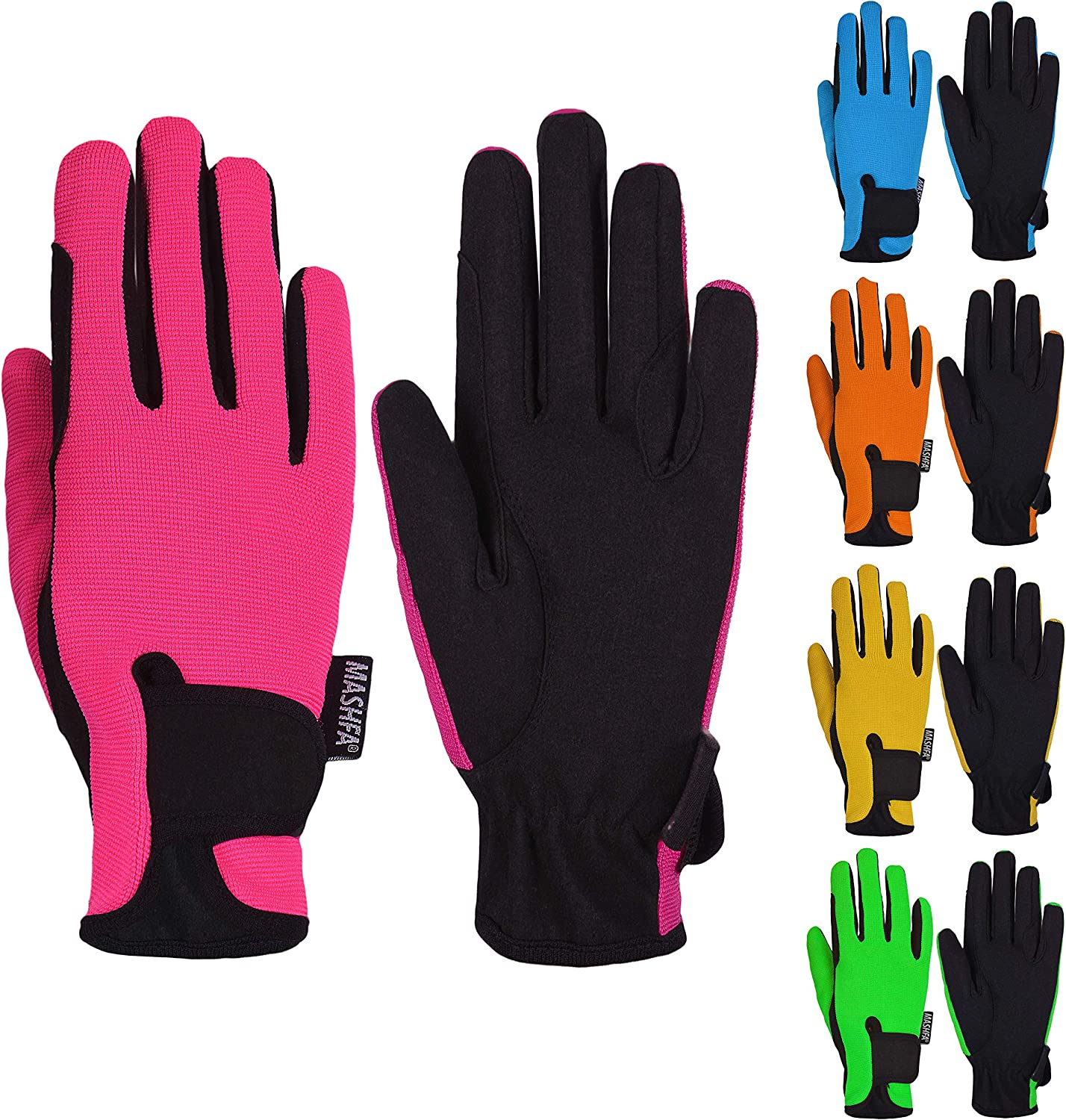 Kids At the price Horse Riding Gloves Child Max 64% OFF H Equestrian Children