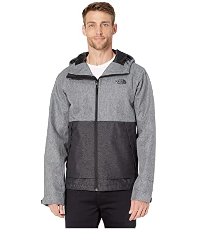 The North Face Millerton Jacket (Monument Grey Herringbone/TNF Black Dobby) Men