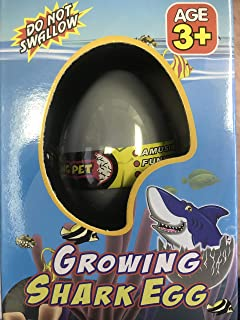 Barry Owen Co. Growing Shark Egg Toy Just Add Water and Watch It Grow, Set of 2