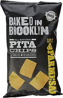 Baked in Brooklyn, Pita Chips, Garlic/Parm, 8 oz