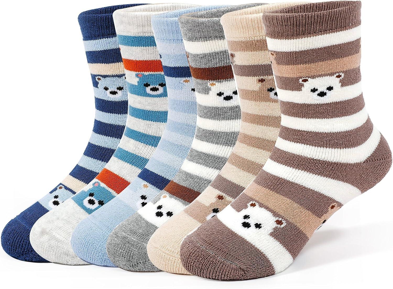 Size Small 2-3t 5-pack Kids Fun Cotton Socks