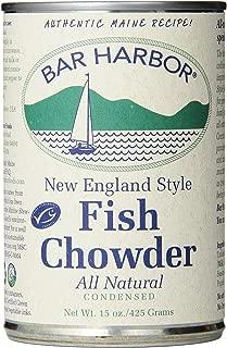 Bar Harbor Chowder, Wild-Caught Alaskan Fish Chowder, 15 Ounce (Pack of 6)