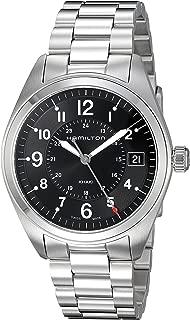 Hamilton Men's 'Khaki Field' Swiss Quartz Stainless Steel Casual Watch (Model: H68551933)