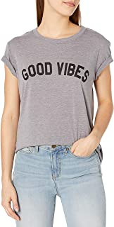 Sub_Urban RIOT Juniors Good Vibes Loose Fit Graphic Tee