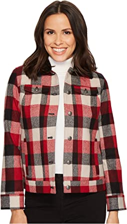 Red/Charcoal Buffalo Plaid