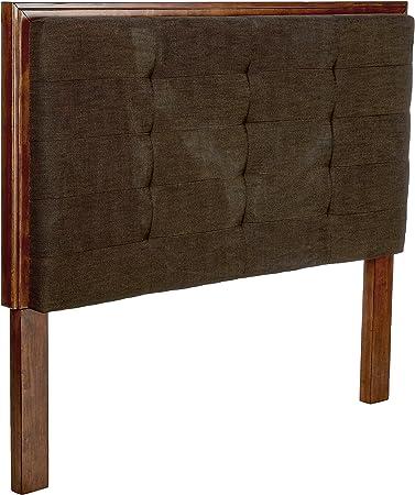 Amazon Com Ashley Furniture Signature Design Ralene Queen Upholstered Panel Headboard Component Piece Medium Brown