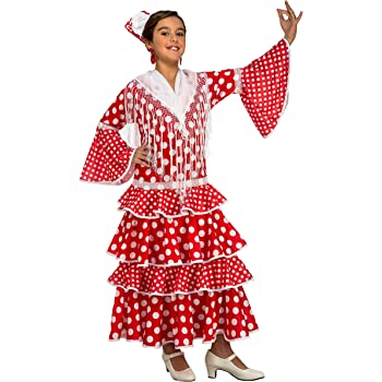My Other Me Me-203843 Disfraz de flamenca Sevilla para niña, color ...