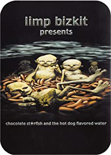 Limp Bizkit - Chocolate Starfish and the Hot Dog Flavored Water Album Cover - Die Cut Sticker