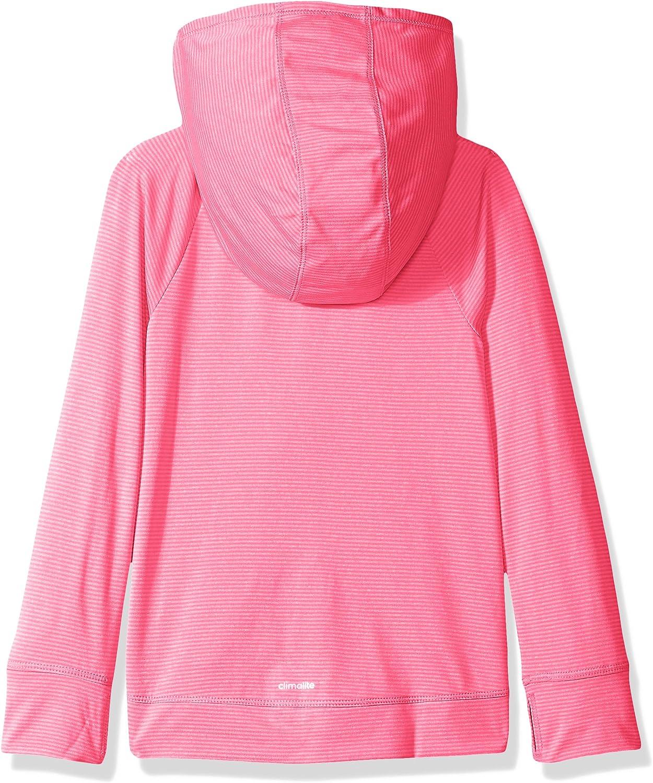 adidas Little Girls' Performance Hoodie: Clothing