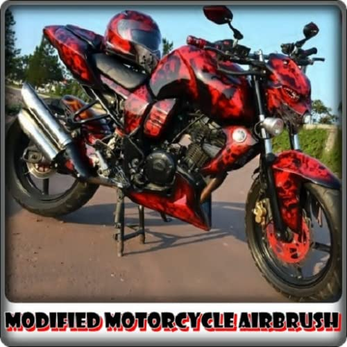 Modified Motorcycle Airbrush