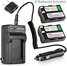 Kastar 2 Pack of 2650mAh EN-EL3 ENEL3 EN-EL3A ENEL3A Li-ion Battery + Battery Charger for Nikon DSLR D50 D70 D70s D100 Digital Camera