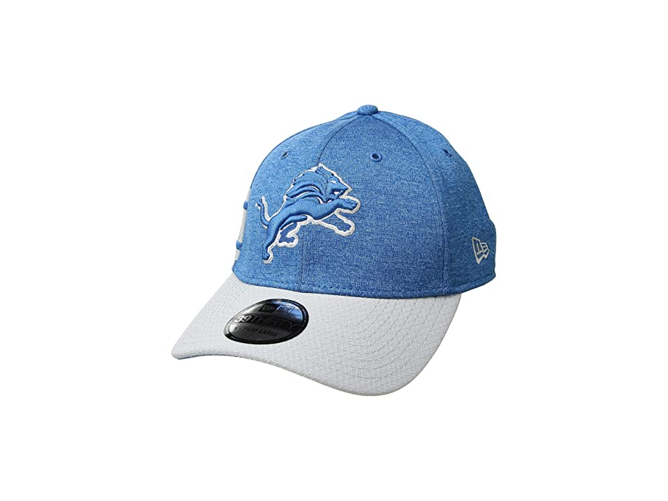 New Era - New Era 39Thirty Official Sideline Home Stretch Fit - Detroit Lions