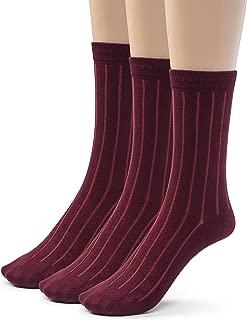 burgundy socks mens