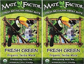 The Mate Factor Yerba Mate Energizing Herb Tea Bag